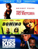 Point Of No Return / Domino / The Long Kiss Goodnight (Triple Feature) Blu-ray