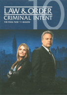 Law & Order: Criminal Intent - The Final Year Movie