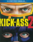 Kick-Ass 2 (Blu-ray + DVD + UltraViolet) Blu-ray