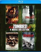 Zombies: 4 Movie Collection Blu-ray
