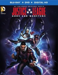 Justice League: Gods And Monsters (Blu-ray + DVD + UltraViolet) Blu-ray