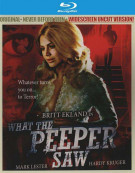 What The Peeper Saw Blu-ray