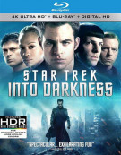 Star Trek Into Darkness (4K Ultra HD + Blu-ray + UltraViolet) Blu-ray
