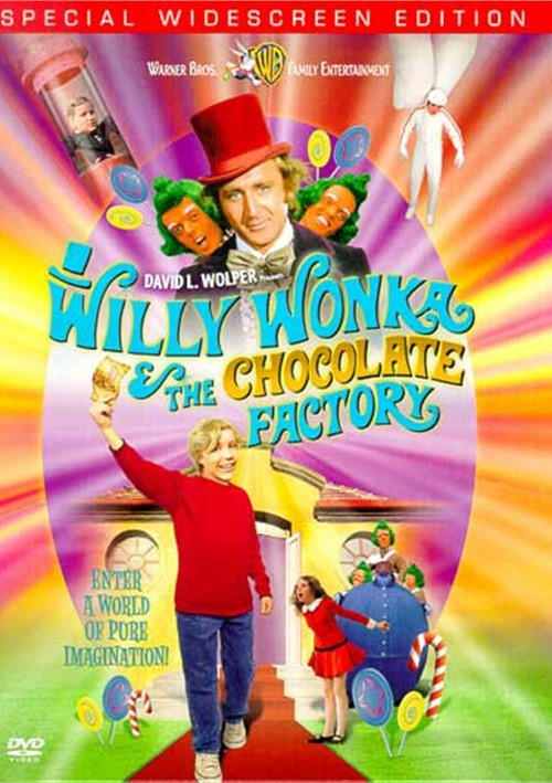 Willy Wonka & The Chocolate Factory (Widescreen) Movie