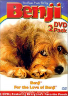 Benji DVD 2 Pack Movie
