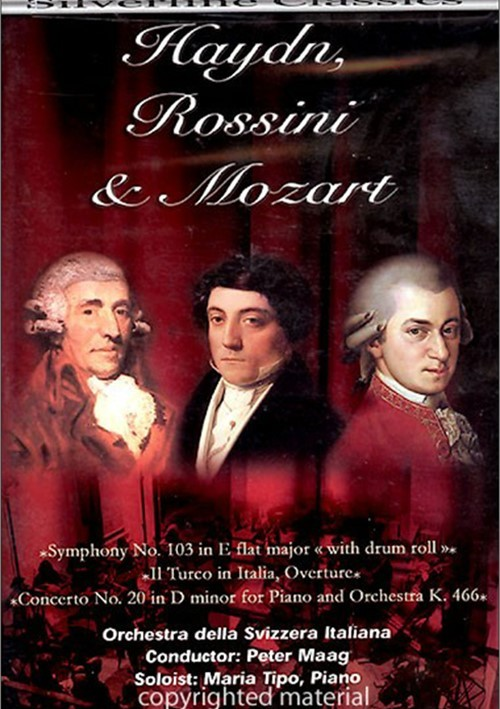 Haydn, Rossini & Mozart Orchestra Della Svizzera Italiana Movie