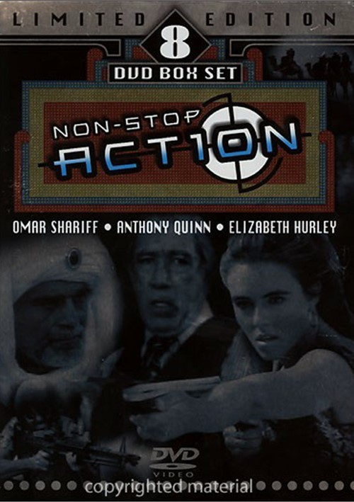 Nonstop Action: Limited Edition 8 DVD Box Set Movie