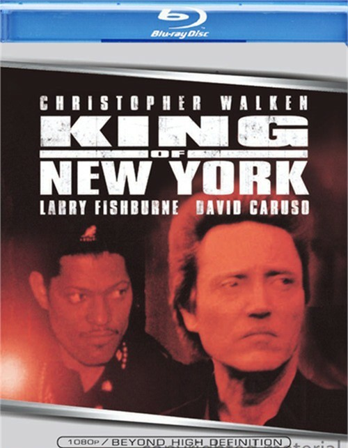 King Of New York Blu-ray