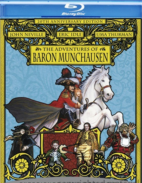 Adventures Of Baron Munchausen, The: 20th Anniversary Edition Blu-ray