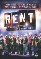 Rent: Filmed Live On Broadway Movie