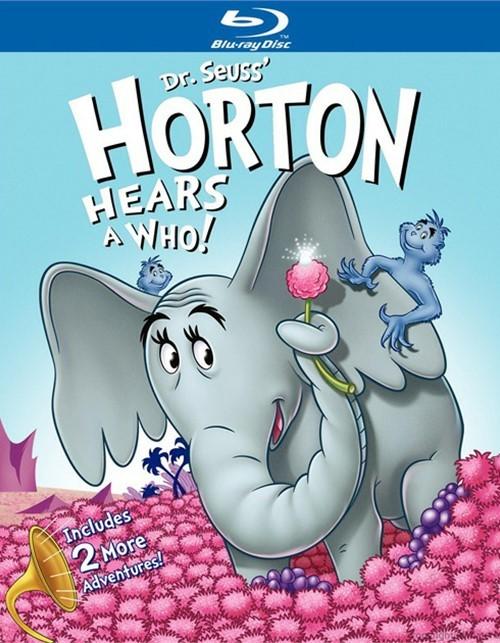 Dr. Seuss Horton Hears A Who: Deluxe Collection Blu-ray