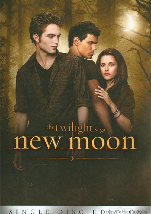 Twilight Saga, The: New Moon (Single Disc) Movie