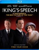 Kings Speech, The Blu-ray