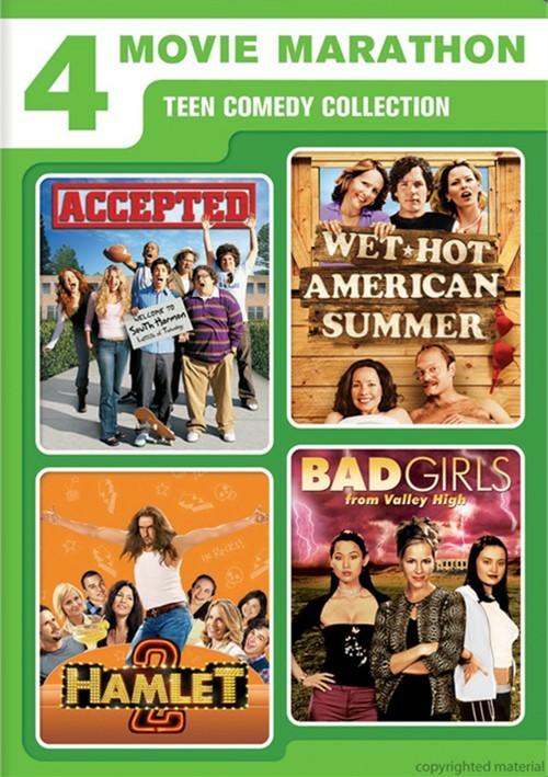 Accepted / Wet Hot American Summer / Hamlet 2 / Bad Girls From Valley High (4 Movie Marathon) Movie