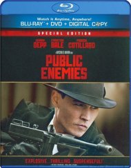 Public Enemies (Blu-ray + DVD + Digital Copy) Blu-ray
