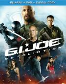 G.I. Joe: Retaliation (Blu-ray + DVD + Digital Copy) Blu-ray
