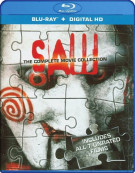 Saw: Complete Movie Collection Blu-ray