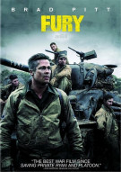 Fury (DVD + UltraViolet) Movie