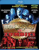 Pro-Wrestlers Vs. Zombies Blu-ray