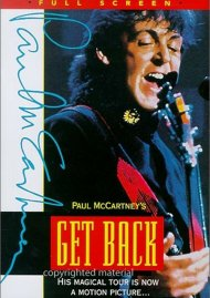 Paul McCartneys Get Back Movie