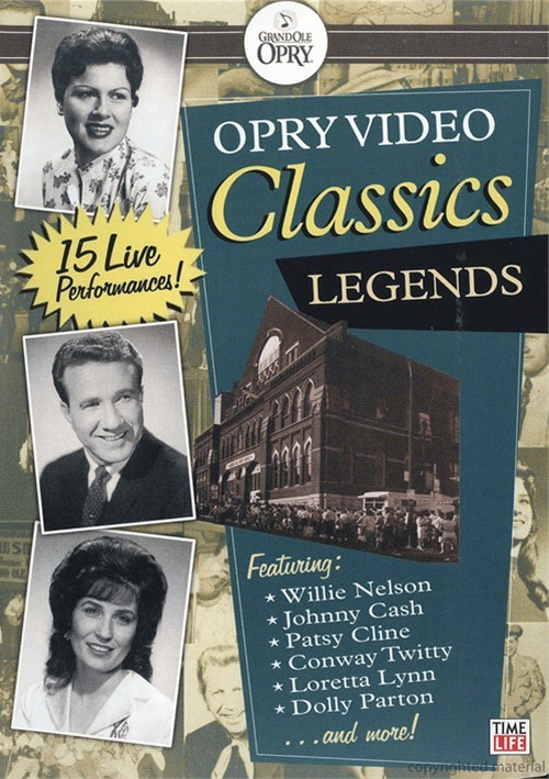Opry Video Classics: Legends Movie