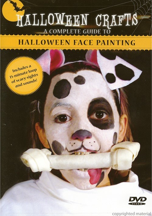 Halloween Crafts: Halloween Face Painting Movie