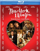 New York, I Love You Blu-ray