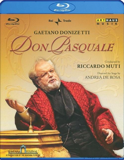 Don Pasquale Blu-ray