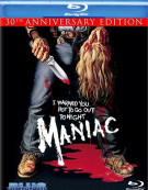 Maniac: 30th Anniversary Edition Blu-ray