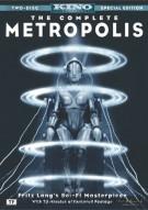 Complete Metropolis, The Movie