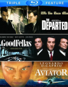 Departed, The / Goodfellas / The Aviator (Triple Feature) Blu-ray