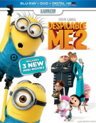 Despicable Me 2 (Blu-ray + DVD + UltraViolet) Blu-ray