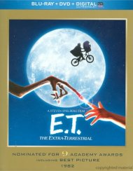 E.T. The Extra-Terrestrial (Blu-ray + DVD + UltraViolet) Blu-ray