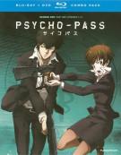 Psycho-Pass: Season One - Part One (Blu-ray + DVD Combo) Blu-ray