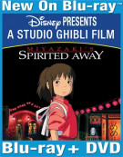 Spirited Away (Blu-ray + DVD Combo) Blu-ray