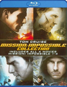 Mission Impossible Quadrilogy Blu-ray