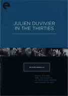 Eclipse Series 44: Julien Duvivier In The Thirties - The Criterion Collection Movie