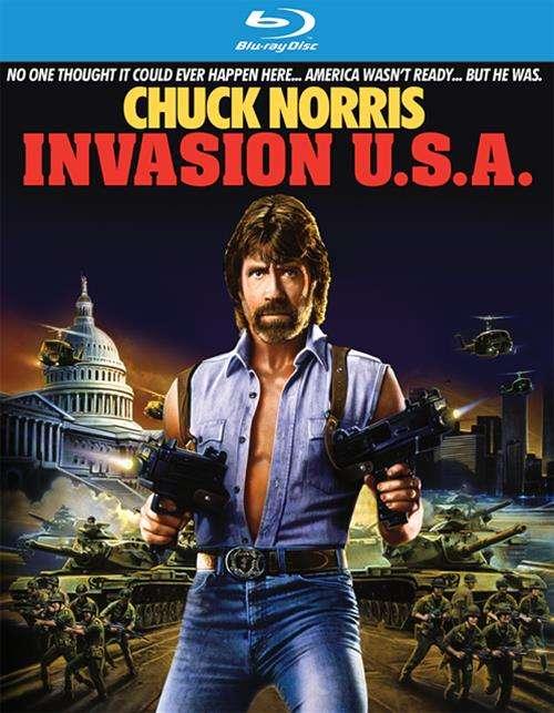 Invasion U.S.A. (Blu-r... Invasion U.s.a. (1985)