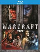 Warcraft (3D Blu-ray + Blu-ray + UltraViolet) Blu-ray