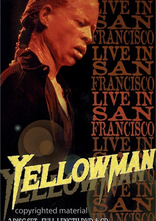 Yellowman: Live In San Francisco (With CD) Movie