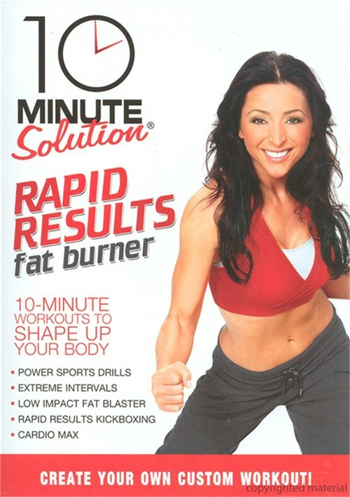 10 Minute Solution: Rapid Results Fat Burner Movie