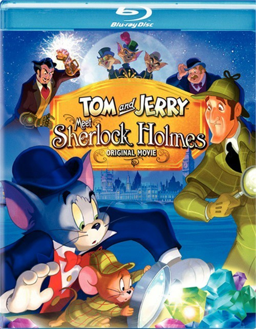 Tom And Jerry Meet Sherlock Holmes (Blu-ray + DVD Combo) Blu-ray