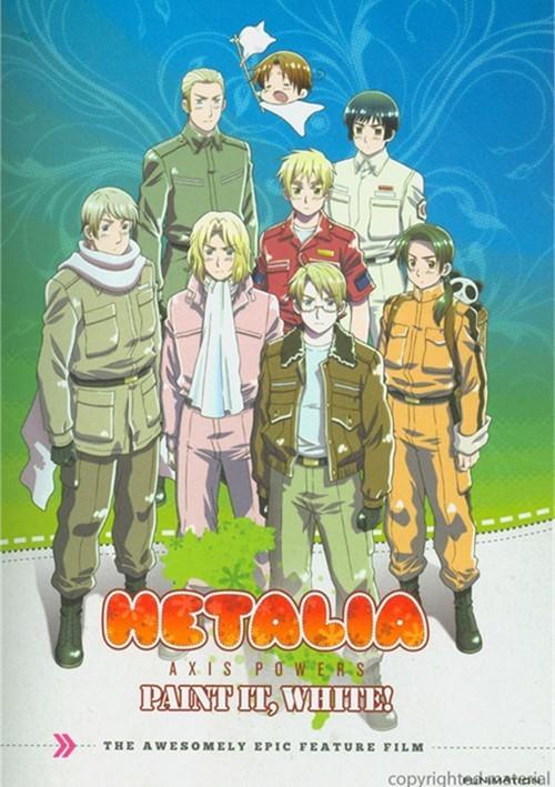 Hetalia Axis Powers: Paint It, White - The Movie (Alternate Art) Movie