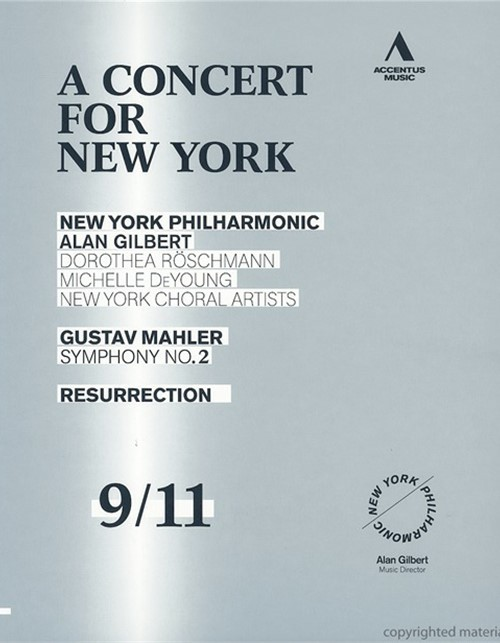 Concert For New York, A Blu-ray