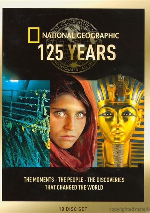 National geographic 125 years dvd collection part