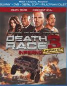 Death Race 3: Inferno (Blu-ray + DVD + Digital Copy + UltraViolet) Blu-ray