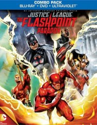 Justice League: The Flashpoint Paradox (Blu-ray + DVD + UltraViolet) Blu-ray