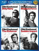 4 Film Favorites: Dirty Harry Collection Blu-ray