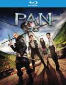 Pan (Blu-ray 3D + Blu-ray + DVD + UltraViolet) Blu-ray