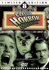 Classic Horror Collection: Limited Edition 8 DVD Box Set Movie